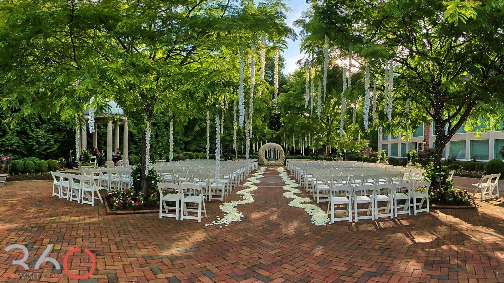 Florentine Gardens wedding venue NJ by 360sitevisit.com