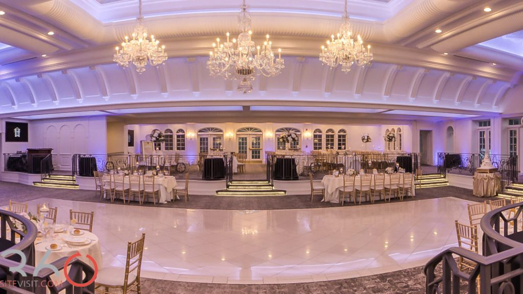 Nanina's in the park newly renovated ballroom. Image by 360sitevisit