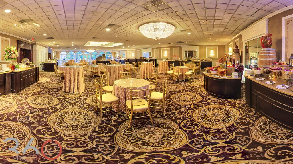 Old Cocktail Hour Room. Wedding Venue in River Vale New Jersey