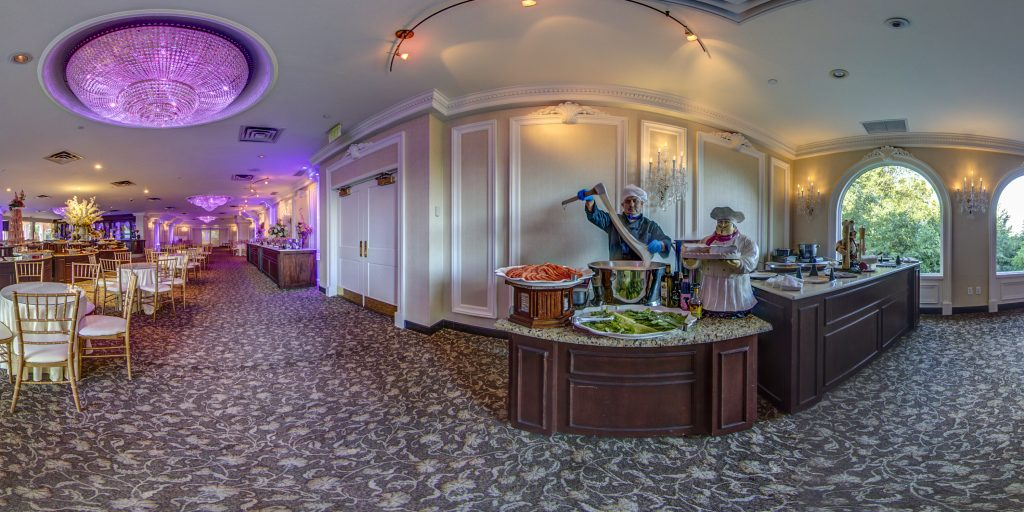 Valley Regency Wedding and event venue Cocktail Hour Room Clifton, NJ photo by 360sitevisit.com