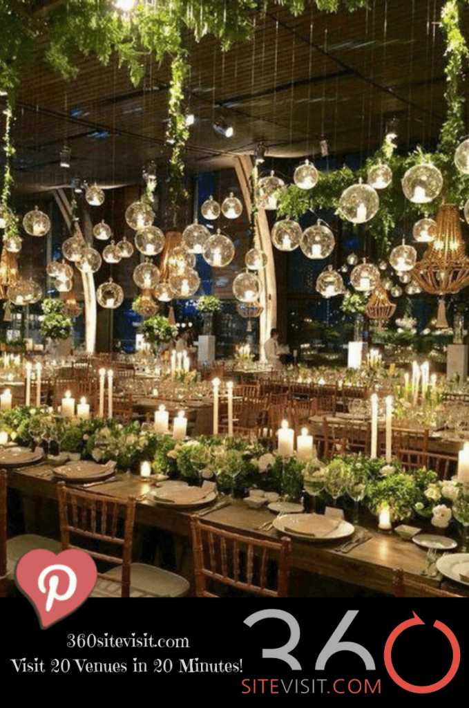 Amazing barn style wedding decor