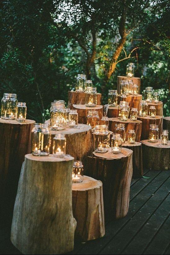 Rustic wedding DIY