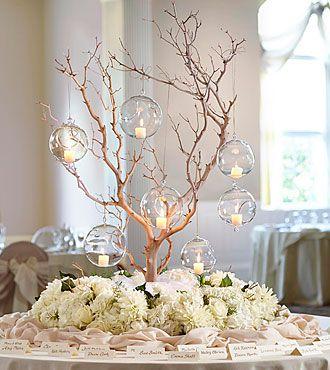 Wedding card table decor idea