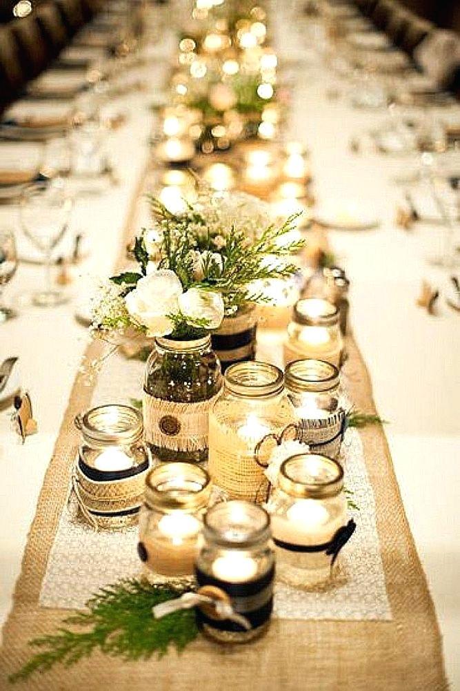 Incorporate mason jars into your rustic wedding