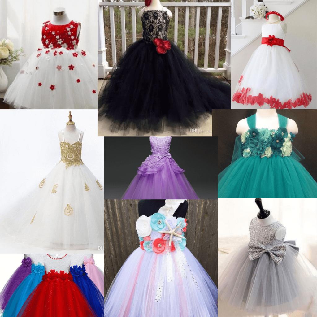 Chic, inexpensive, cheap, and elegant Flower girl dresses