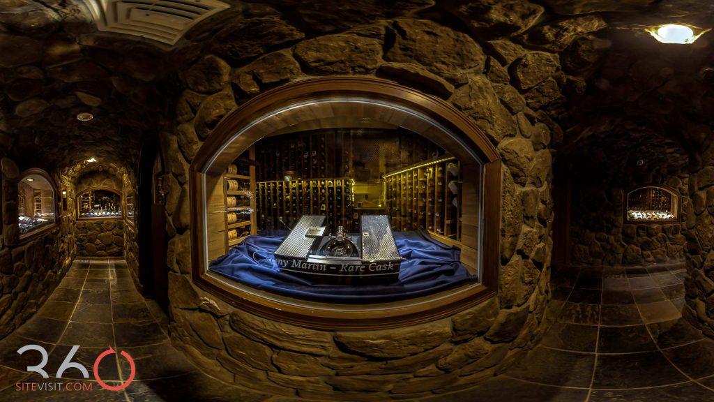 Crystal Springs Resort Award wining wine cellar.  Food and wine festival