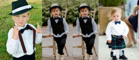 Hats, bow ties, suspenders and so much more to pick from.