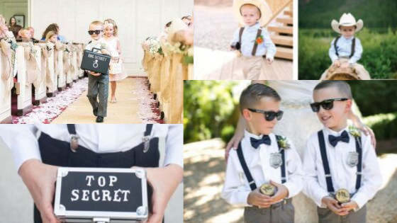 Top secret ring security on the job to protect your rings at the wedding event