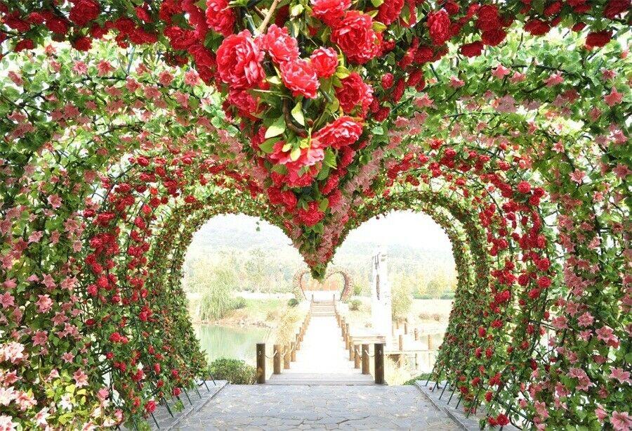 Grand floral wedding ceremony decor