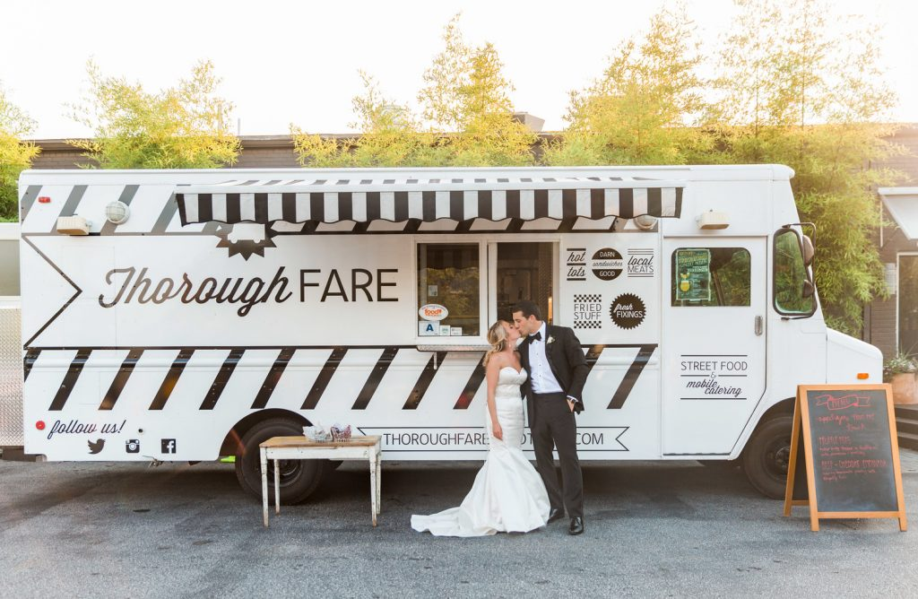 Food Truck for your wedding venue