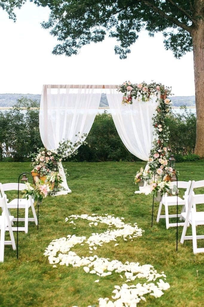 diy wedding arch decoration