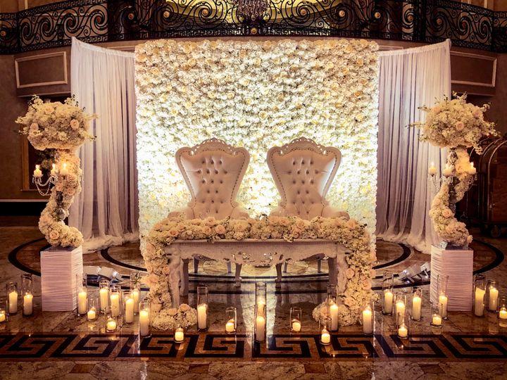 Dahlia Floral & Event Design at Park Chateau wedding venue