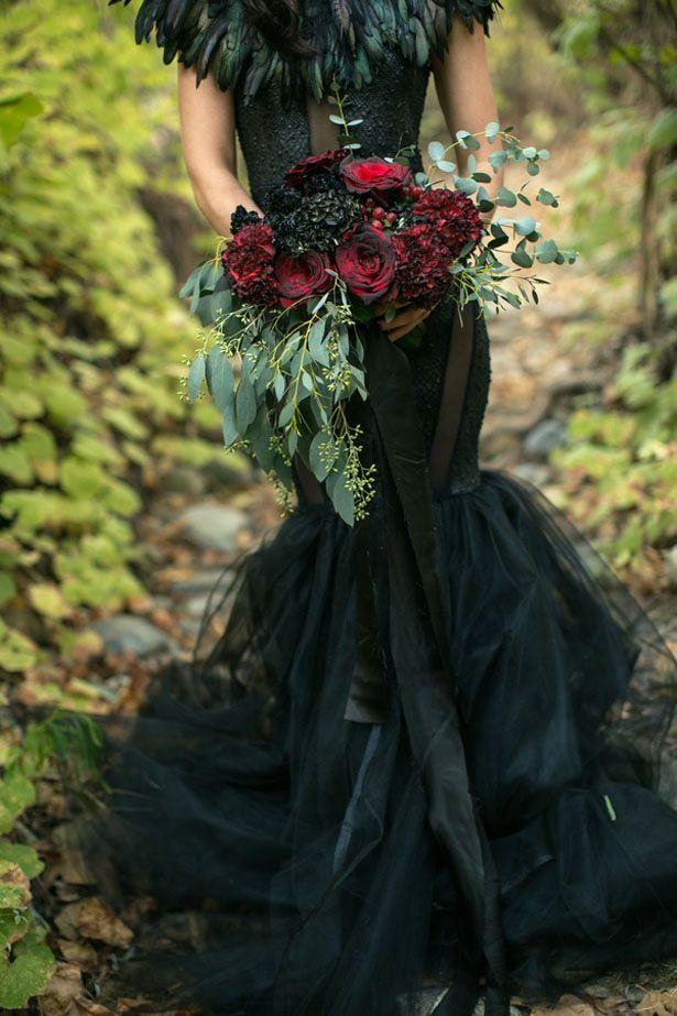 Stylish Halloween Wedding