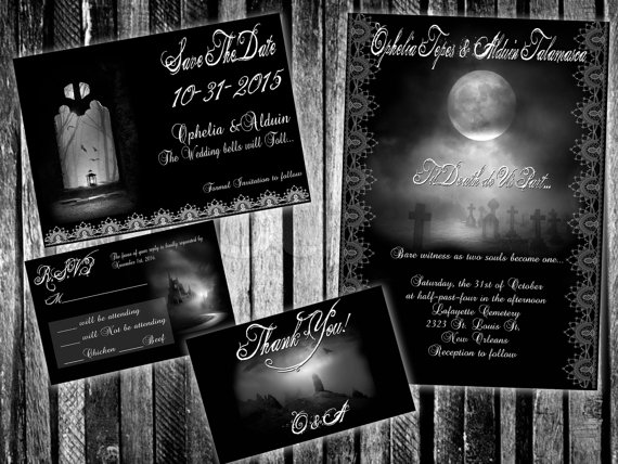 Save the date for the Hallowedding