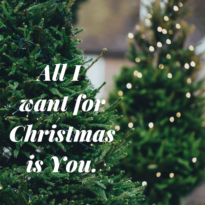 All I want for Christmas is you - Wedding song