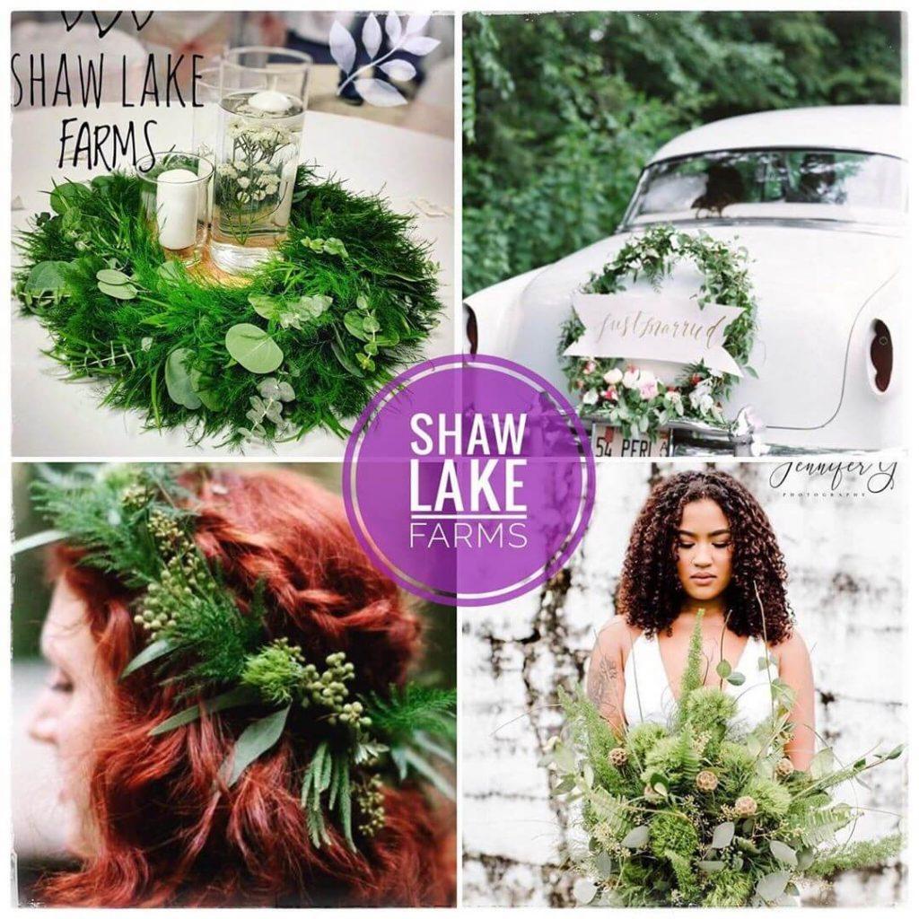 Shaw Lake Farms wedding flowers