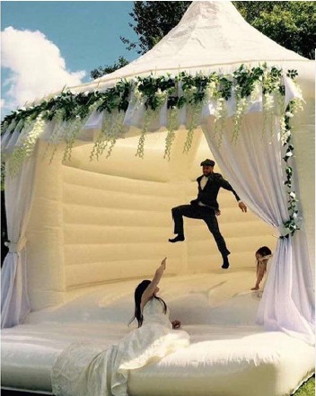 Jewish wedding canopy - rustic wedding chic