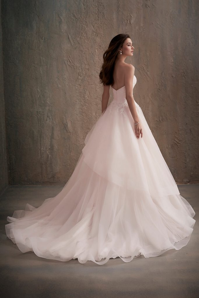 Adrianna Papell bridal gown