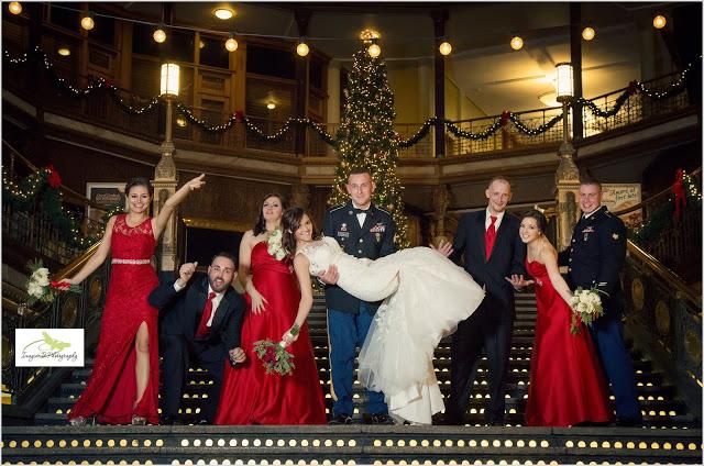 AMANDA & BOBBY'S MILITARY STYLE WEDDING