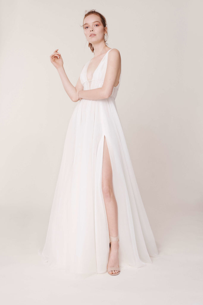 Rita-vinieris-Alyne-Drogo-Delicately-draped-tulle-gown-with-crystal-beaded-empire-detail-and-slit-scaled
