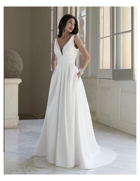 Venus-Informal-vn7014-v-neck-gown