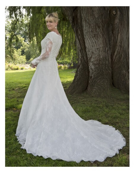 Venus-Modest-TB7799-lace-gown-with-long-illusion-lace-sleeve-over-petal-sleeve