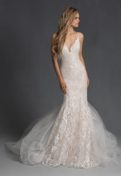 hayley-paige-embroidered-fit-and-flare-sweetheart-neckline-wedding-dress