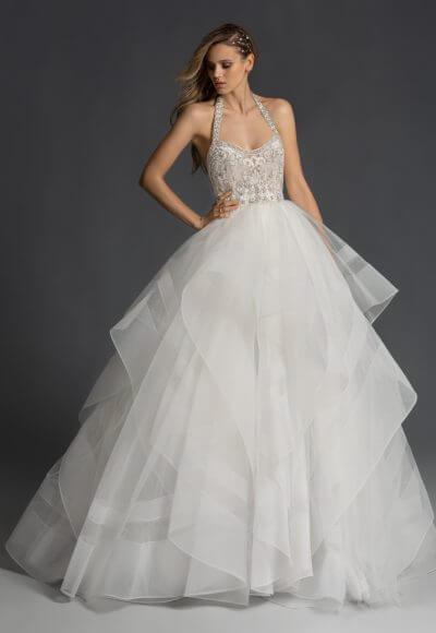 hayley-paige-halter-neckline-ballgown-wedding-dress-with-beaded-bodice-and-straps