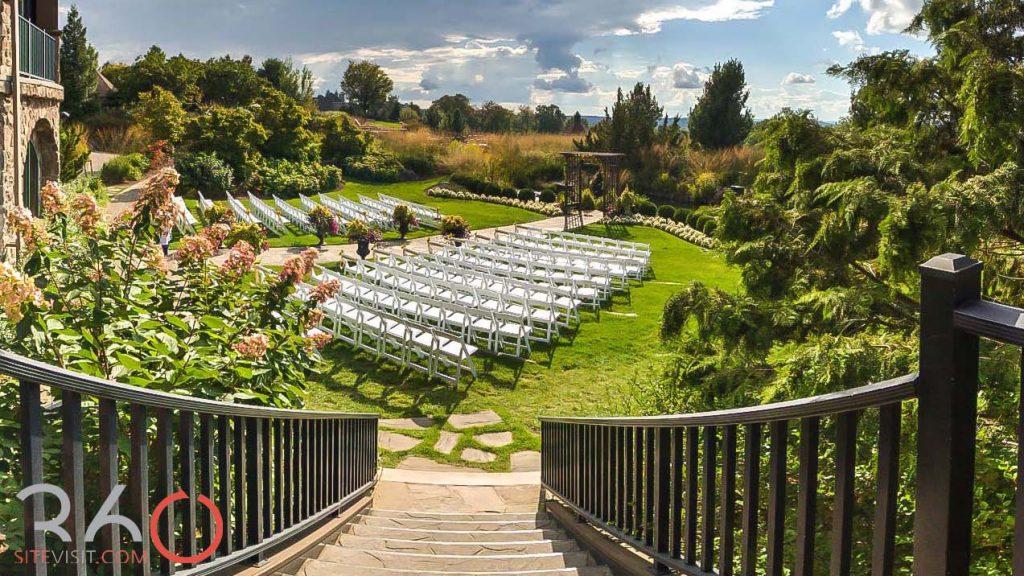 Garden Wedding at Crystal Springs Resort