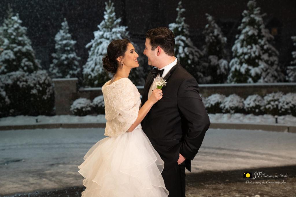 winter wedding by JF photo studio