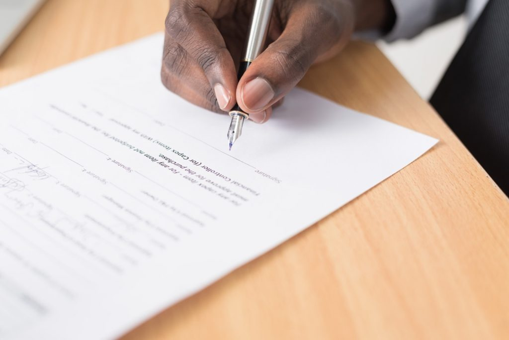 Wedding Vendor Contract