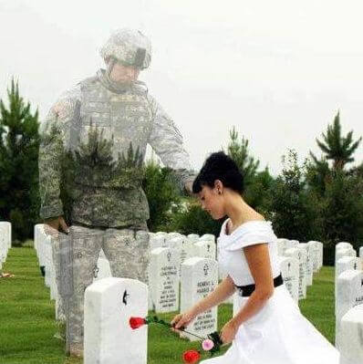 47 Loving Ways to HONOR Military HEROES AT YOUR WEDDING DAY!