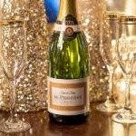 Champagne for a white winter wedding