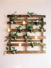 Rustic-Wedding-Pallet-candle-holders