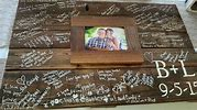 Rustic-Wedding-Pallet-guest-signature-photo-frame