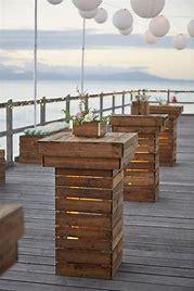 Rustic-Wedding-Pallet-side-table
