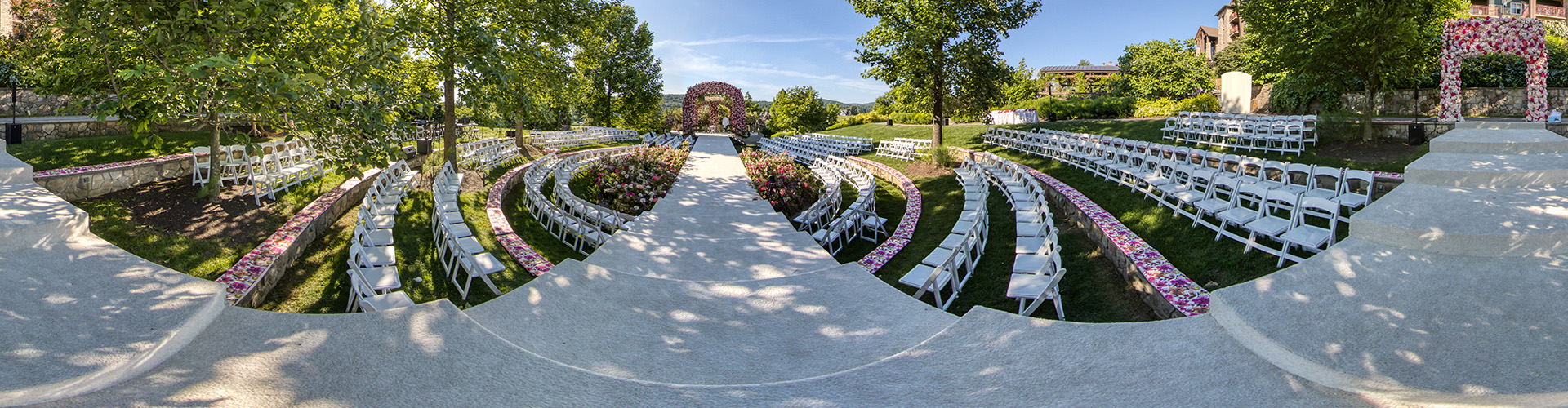 Crystal Springs Resort outdoor Ceremony by 360sitevisit