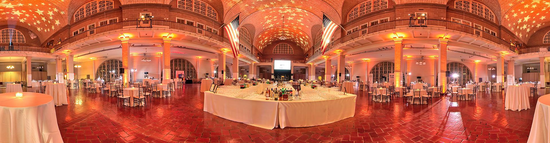 Ellis Island Registry Room Cocktail by 360SiteVisit