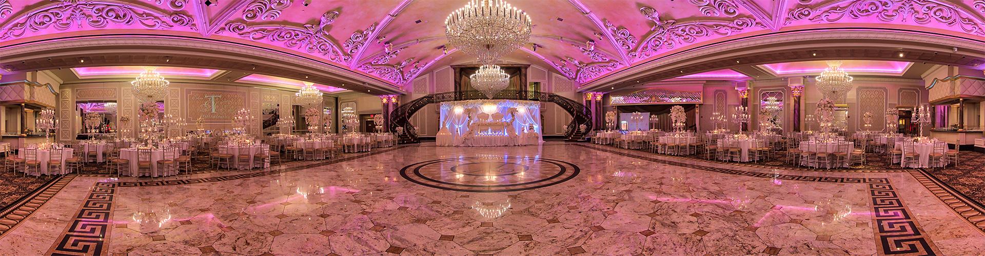 Venetian NJ wedding venue ballroom by 360SiteVisit