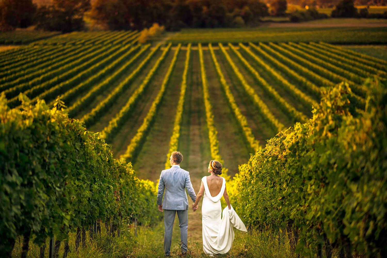 Brewery/Vineyard Wedding