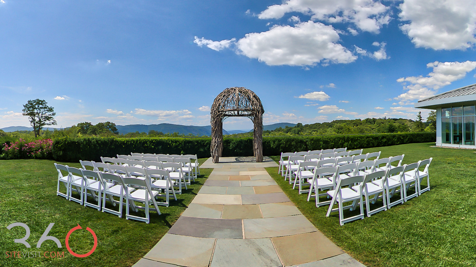 29-The Garrison wedding and event venue Garrison, NY virtual tour by 360sitevisit