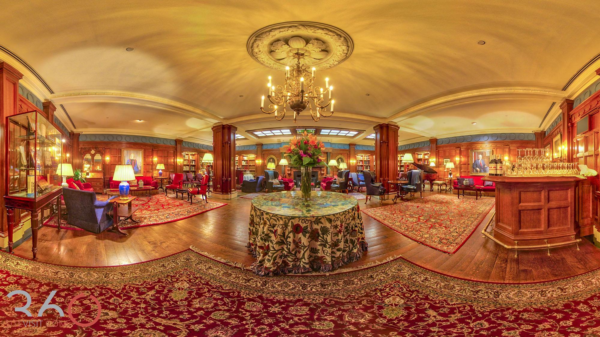 60-Penn Club NYC event venue virtual tour by 360sitevisit
