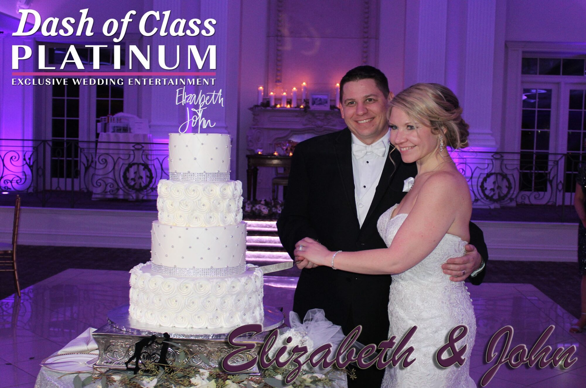 645-Dash of class platinum wedding entertainment NJ
