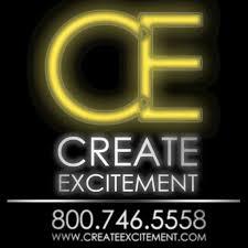 91-Create Excitement Logo – Black