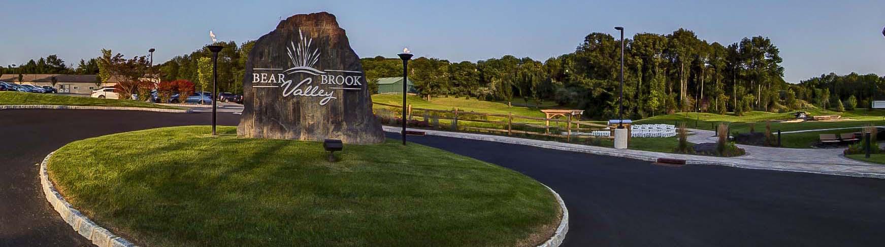 Bear Brook Valley, Fredon Township, nj header image
